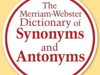 好书推荐   一本手头必备的同义词反义词词典