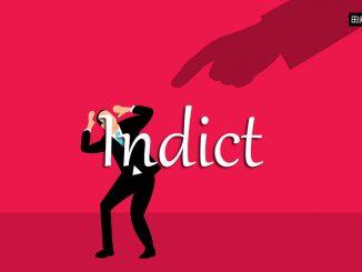 小词详解 | indict